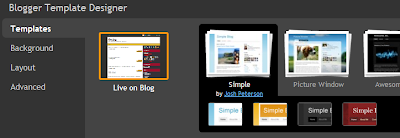 Awesome Blogger Feature : Blogger Template Designer