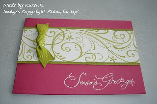 Stampin Up and so swirly