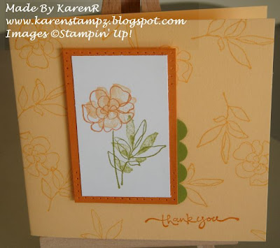 Stampin Up and Botanical Blooms