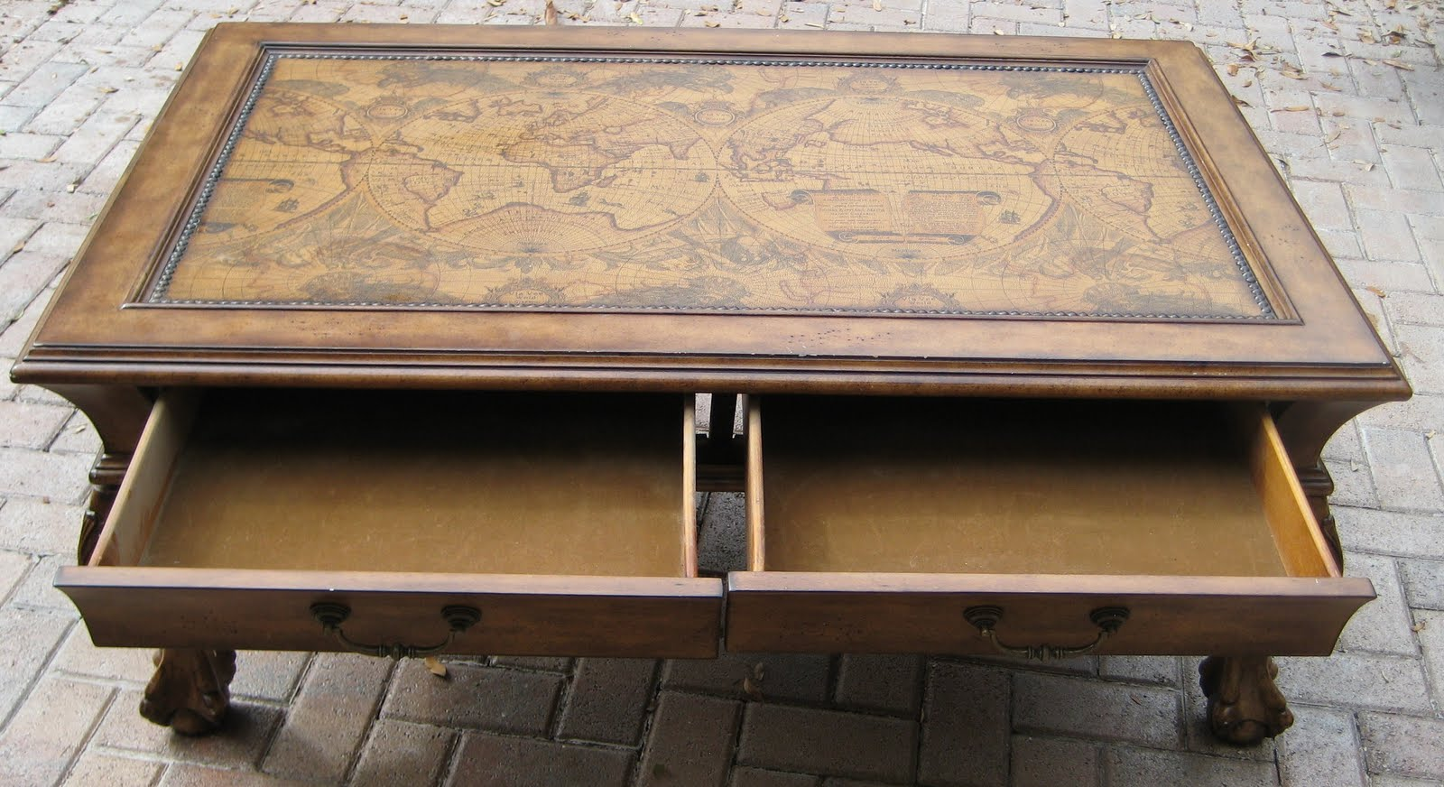 Map Coffee Table Matches Wood Chest Drawer Thing Bar With Design