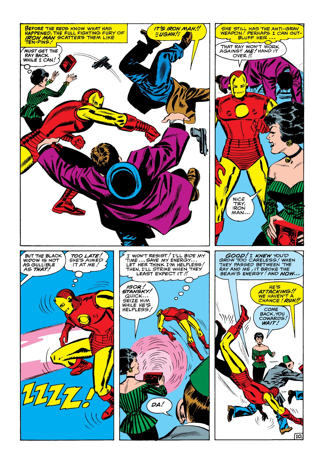Read online Marvel Masterworks: The Invincible Iron Man comic -  Issue # TPB 2 (Part 1) - 41