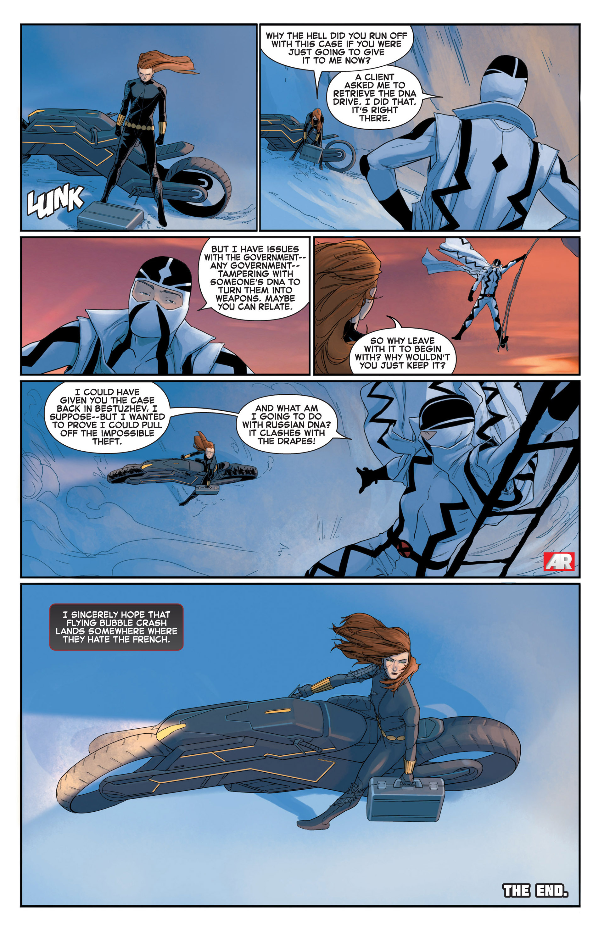 Read online A X comic -  Issue #10 - 12