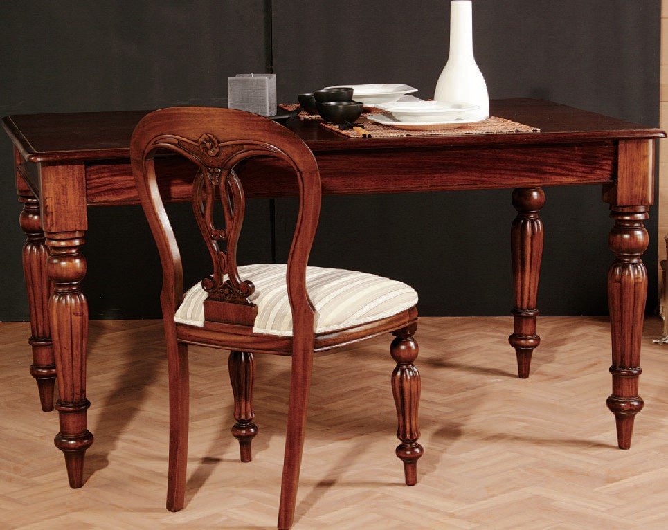 El blog de demarques junio 2010 for Modelo de mesas para comedor