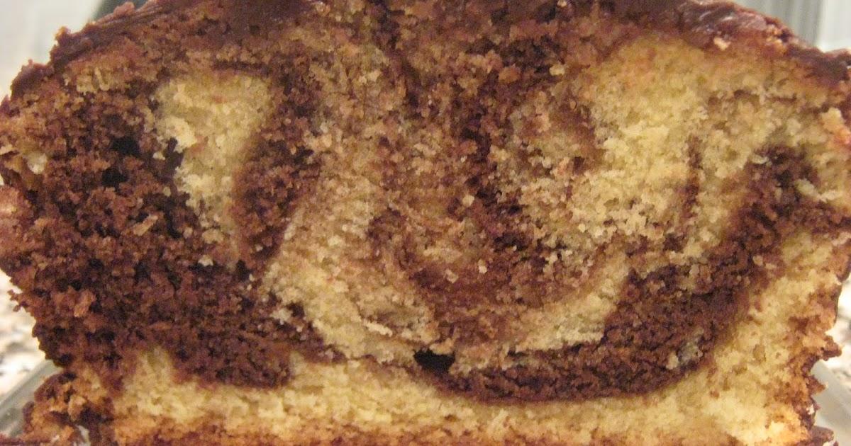 Chocolate Marble Pound Cake Marcy Goldman