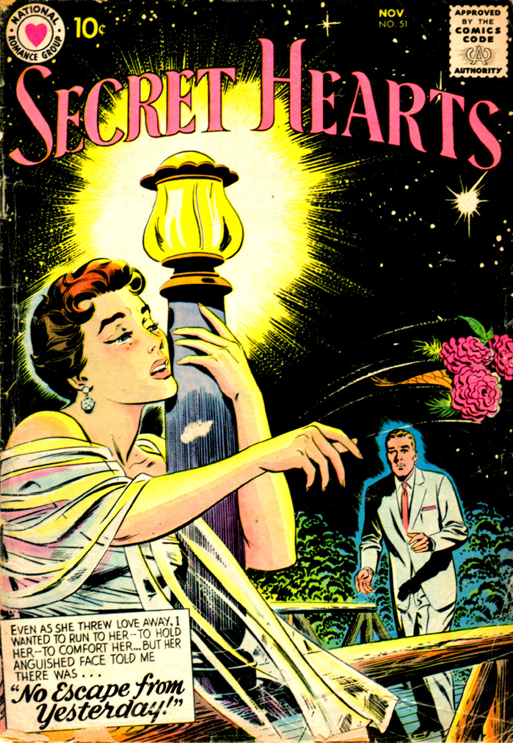 Read online Secret Hearts comic -  Issue #51 - 1