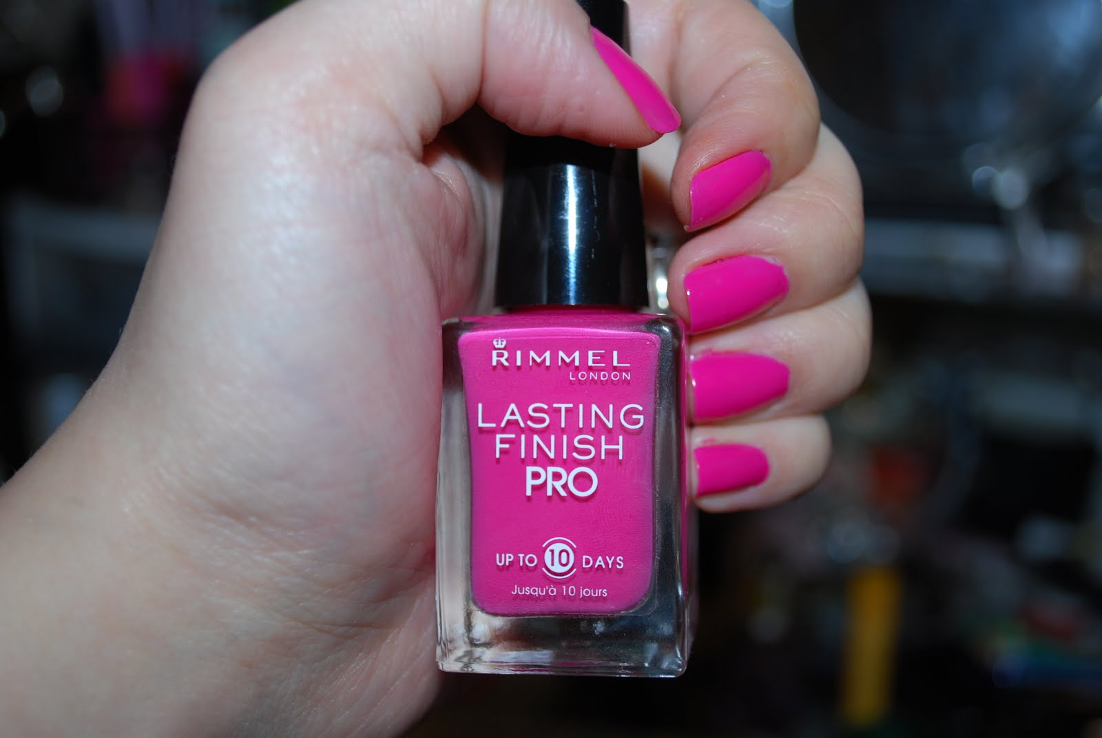 Beauty Is Not Caused Rimmel Lasting Finish Pro Polish Review