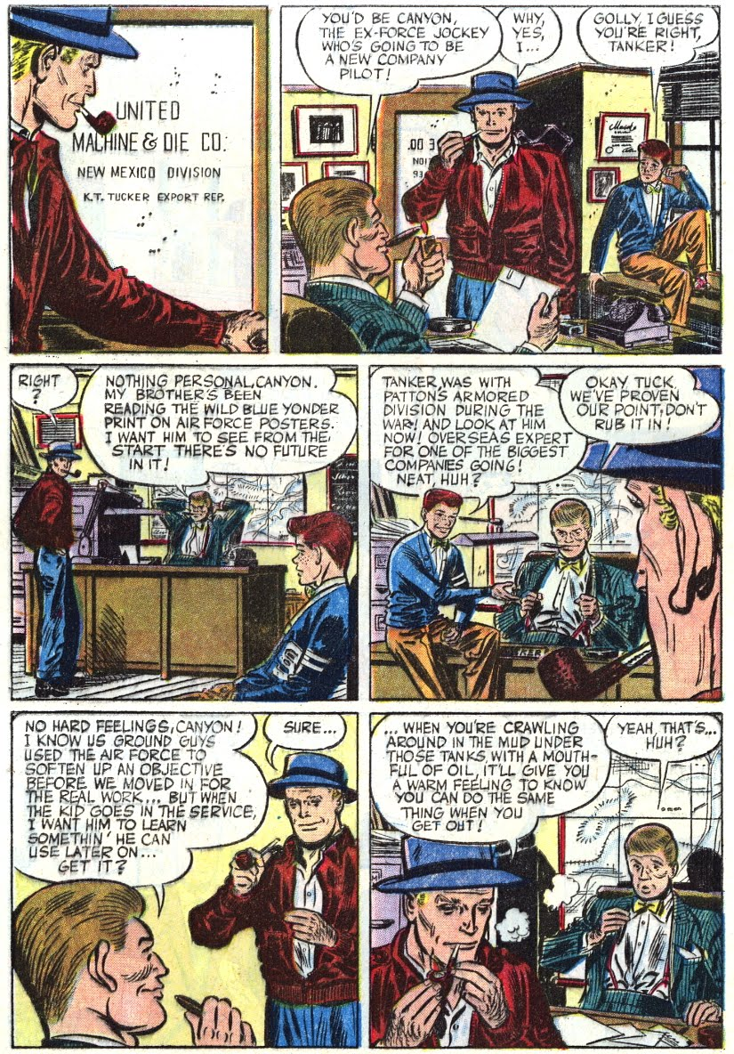 The Big Blog Of Kids Comics Steve Canyon In Four Color