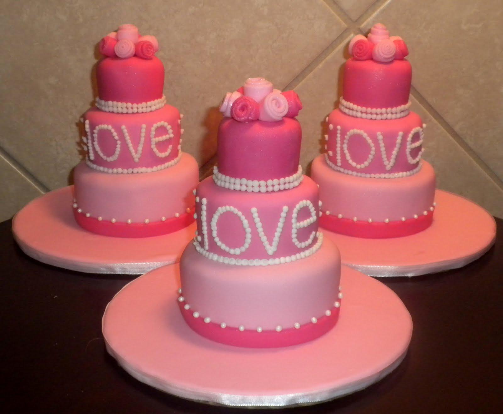 pastelitos de san valentín