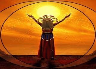 Resultado de imagen de el sol como dios