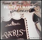 Fiona and Twig Paris Flea Market Giveaway