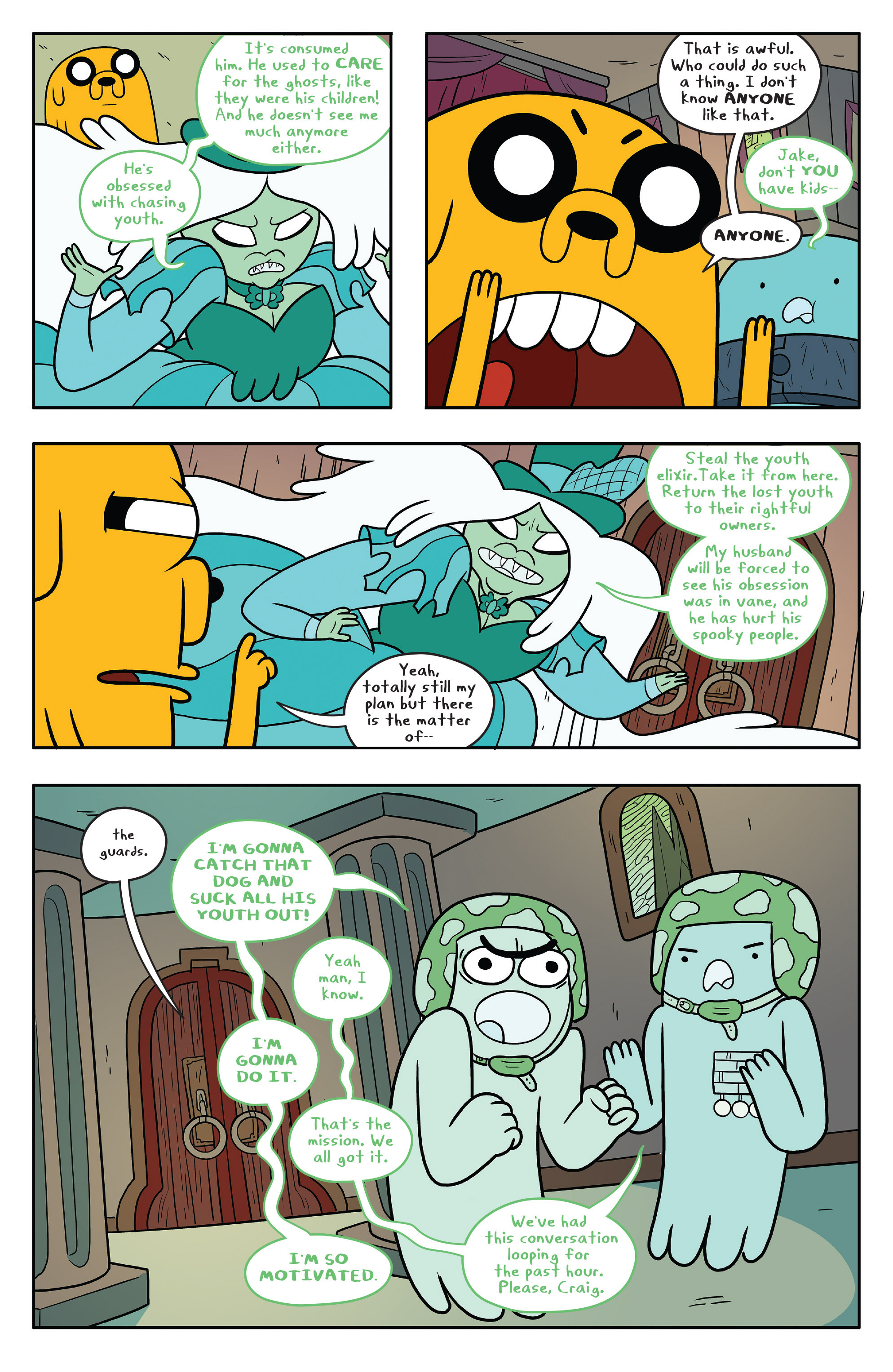 Read online Adventure Time comic -  Issue #53 - 10