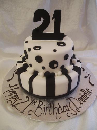 Style Of 21 Birthday Cakes