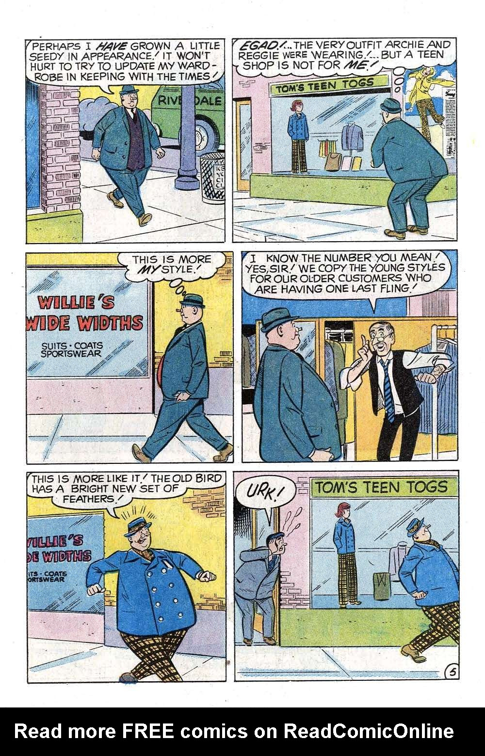 Read online Archie (1960) comic -  Issue #202 - 17