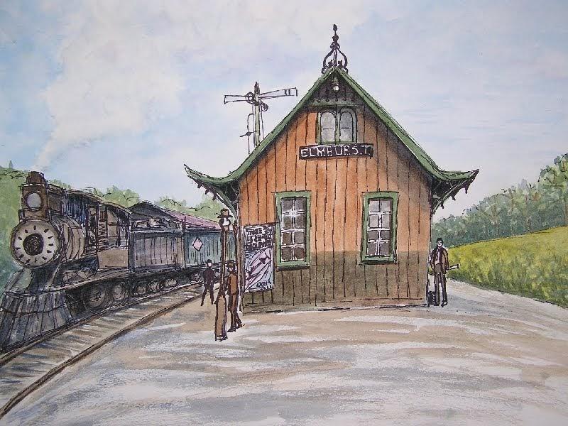 The Bensonworks Art Studio: Whistle Stops and Depots ...