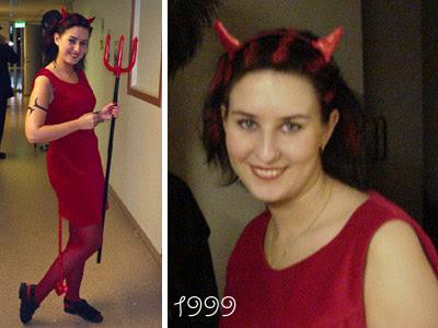 Hemma på min gata i Piteå - Catarinas blogg  Halloween - Djävul 7f8af2a5dcd1b
