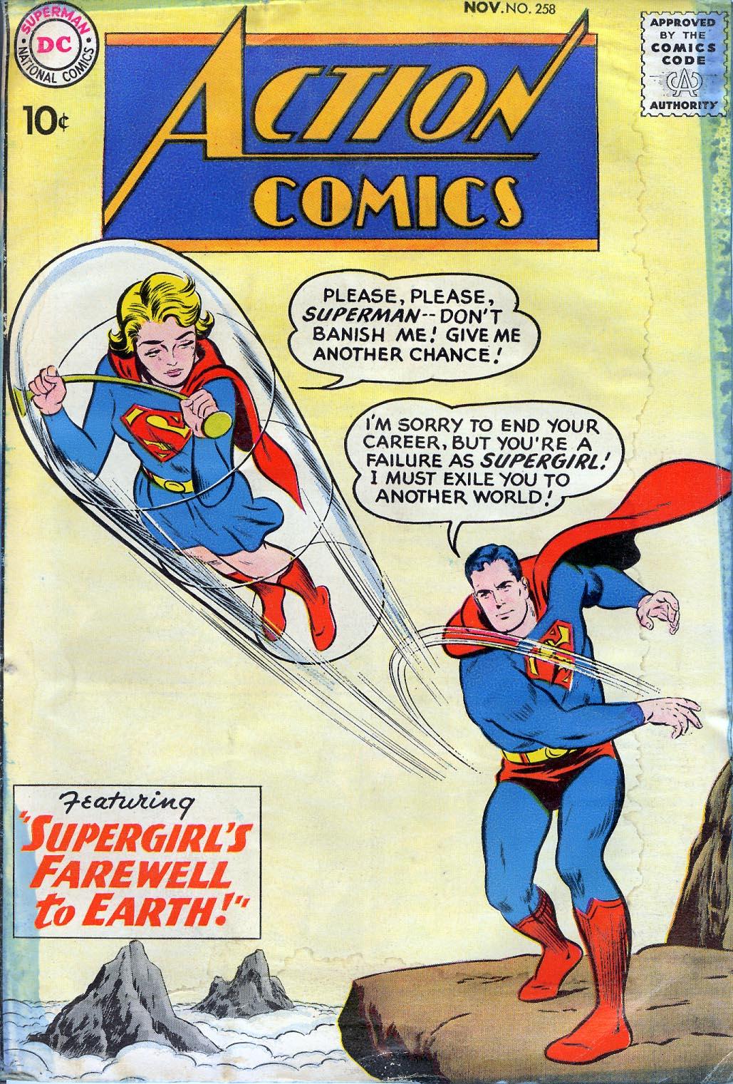 Action Comics (1938) 258 Page 1