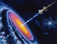 El motor de materia oscura una forma de explorar el espacio