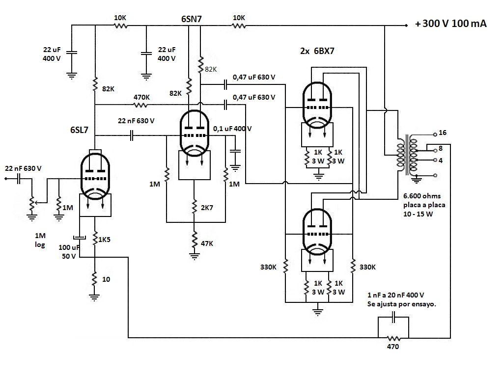 Saleskit Difernt Plates Amplificador Electronica