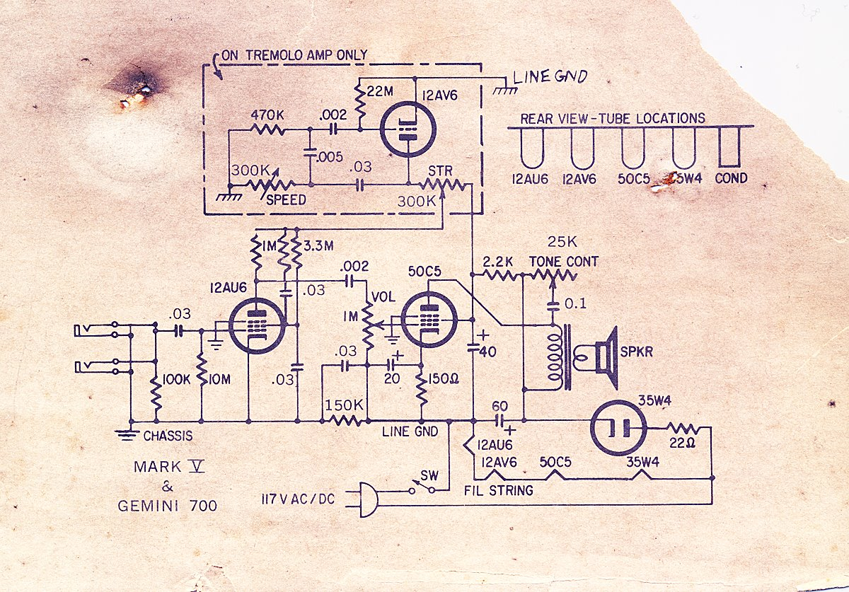 Harmony Guitar Circuits Wiring Diagrams