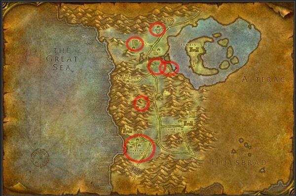 Master of World of Warcraft : Gold making guide: Farming Cloth