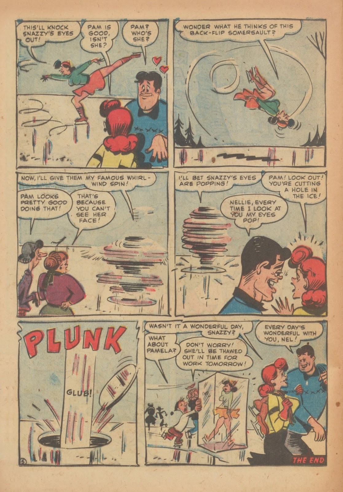 Read online Nellie The Nurse (1945) comic -  Issue #33 - 24