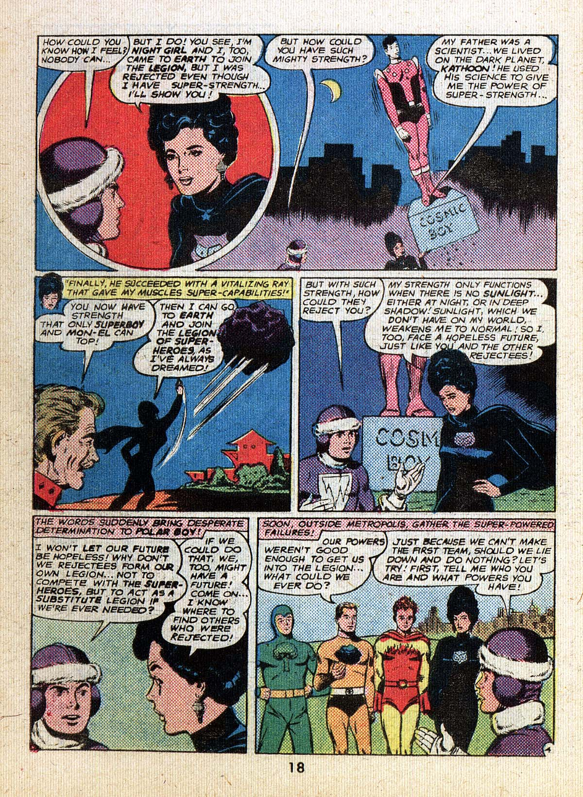 Read online Adventure Comics (1938) comic -  Issue #500 - 18