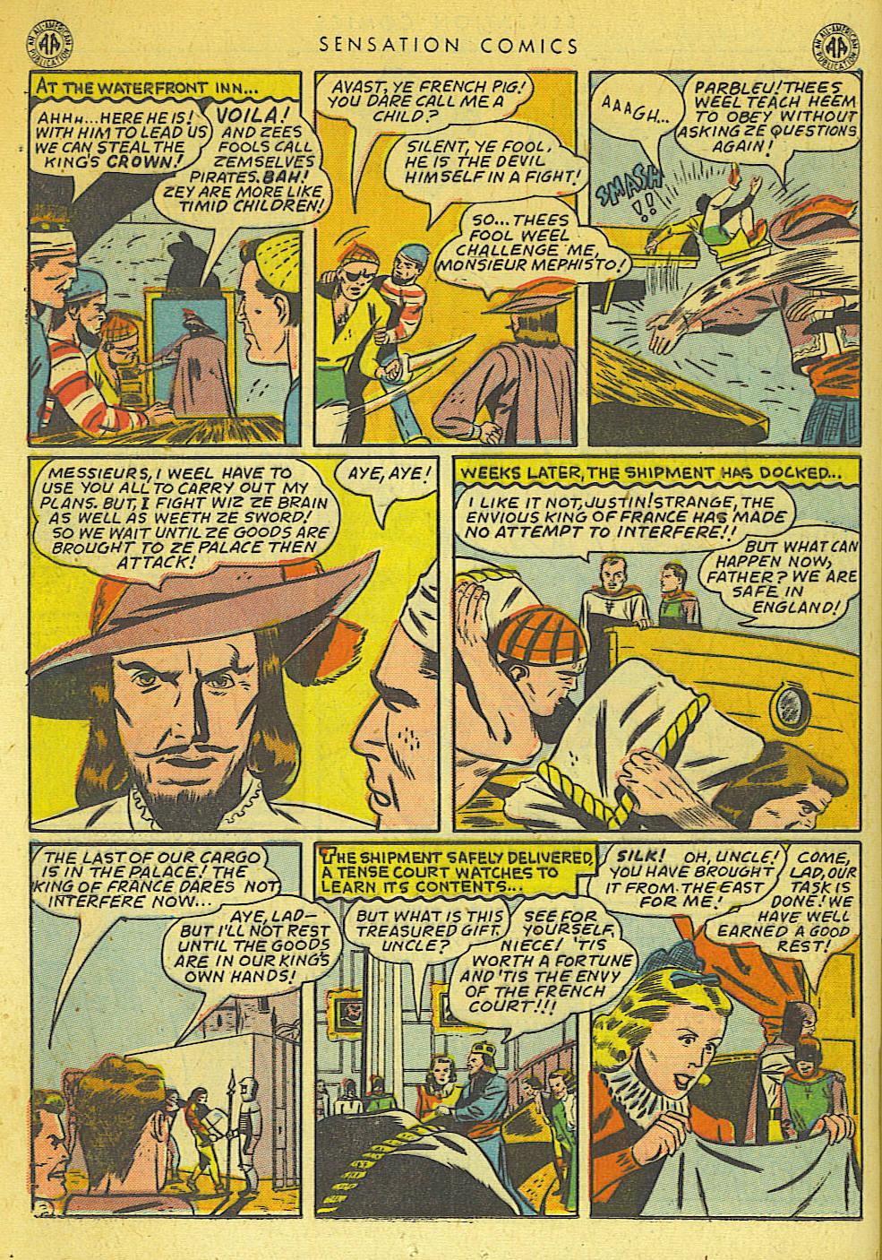 Read online Sensation (Mystery) Comics comic -  Issue #42 - 24