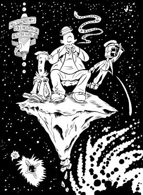 aliens in the attic coloring pages | Mike Sgier: Some Alien Drawings