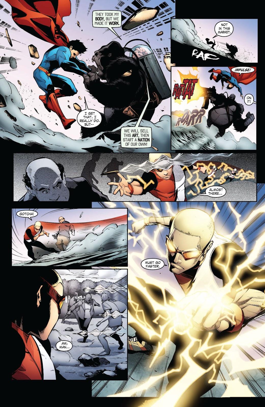 Read online Smallville Season 11 [II] comic -  Issue # TPB 3 - 33