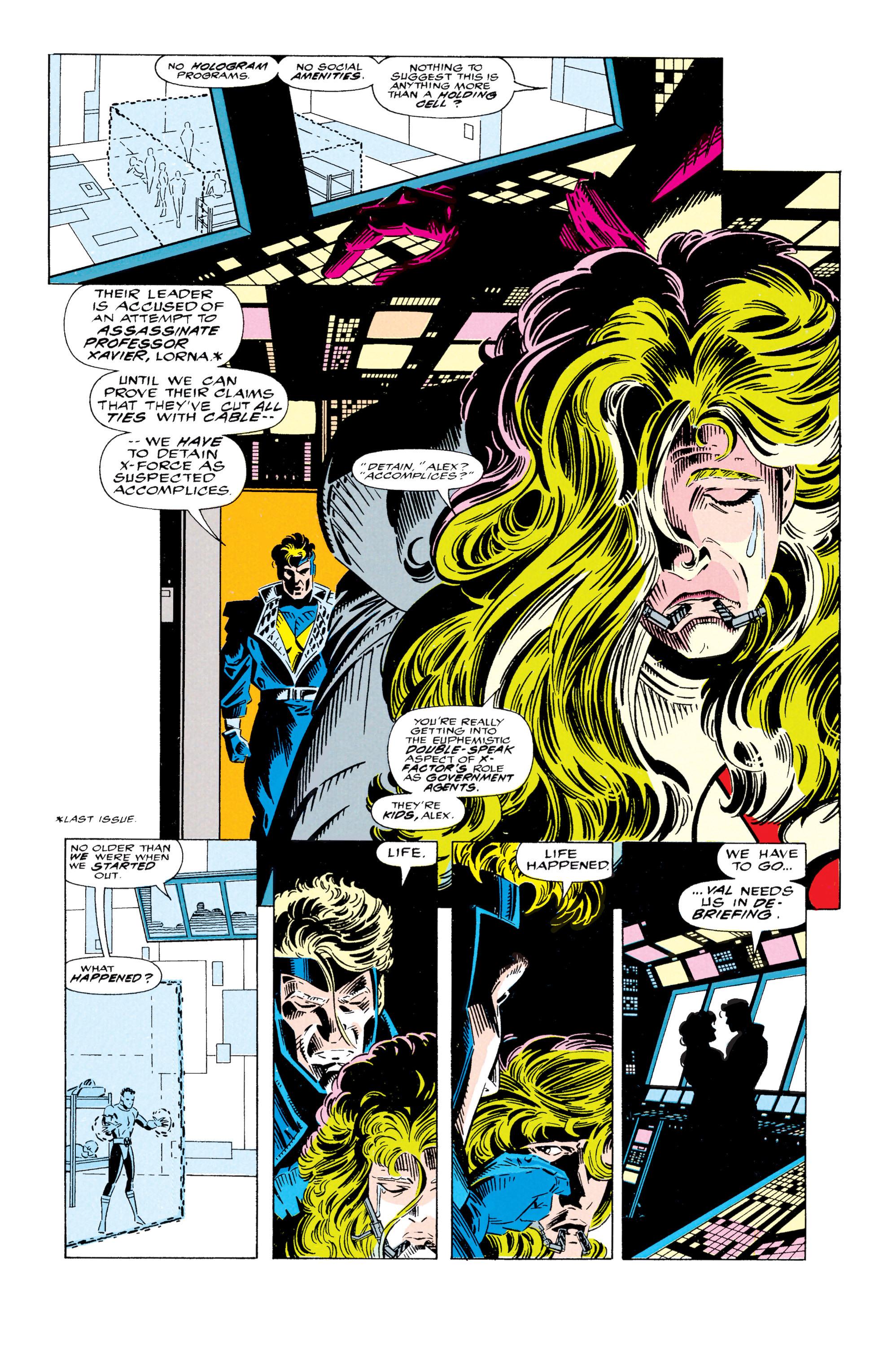 Read online Uncanny X-Men (1963) comic -  Issue #295 - 7