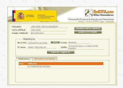 37506d674aced Una vez conseguida tu cita puedes accesar en el sitio web  http   citapreviaconsular.maec.es . con tu nombre de usuario y contraseña    e incluso de manera ...