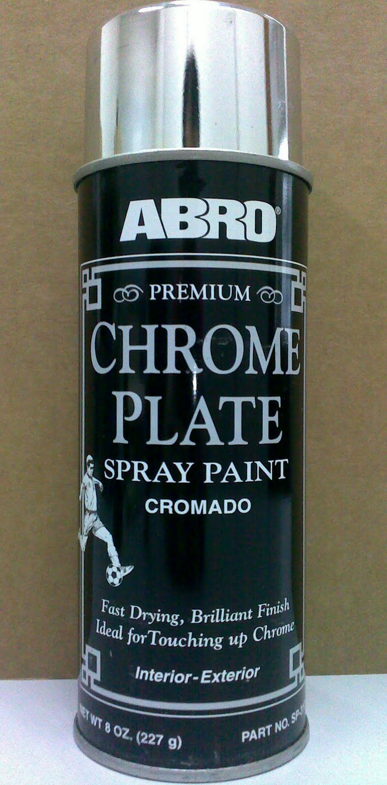 Abro Premium Chrome Plate Spray Paint Easy Chroming Diy