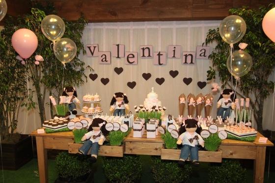 Bonecas de pano eventos for friends for Mobilia valentina