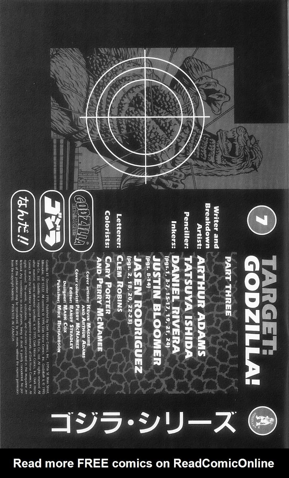 Godzilla (1995) Issue #7 #8 - English 3
