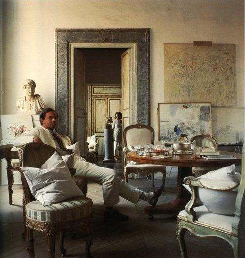 For pilar cy twombly in rome one of the most for Interior design studio roma