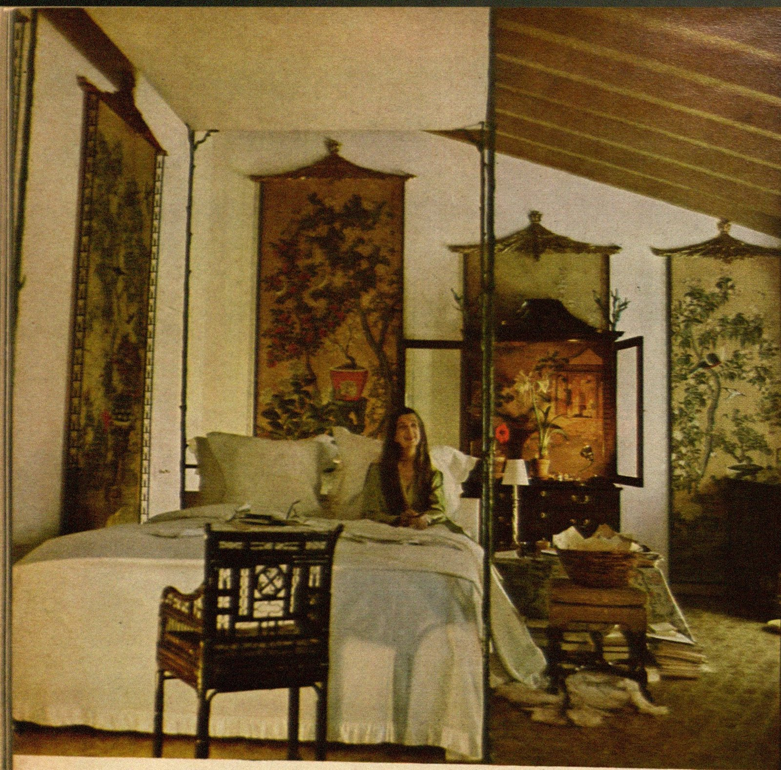 For Pilar Pauline De Rothschild S Bedroom At Chateau