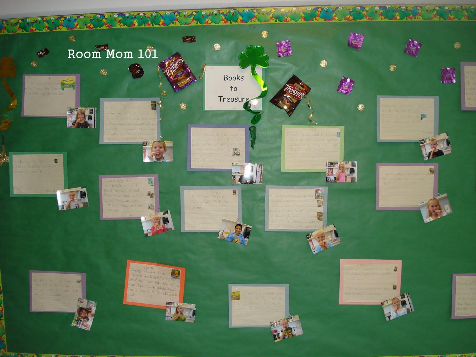 Room Mom 101 Some Bulletin Board Ideas