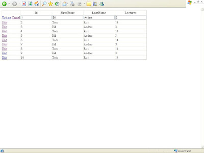How To Hide GridView columns in normal mode, and show more