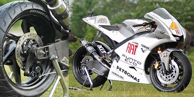 Yamaha Vixion Modification