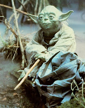 This is a picture of Yoda.
