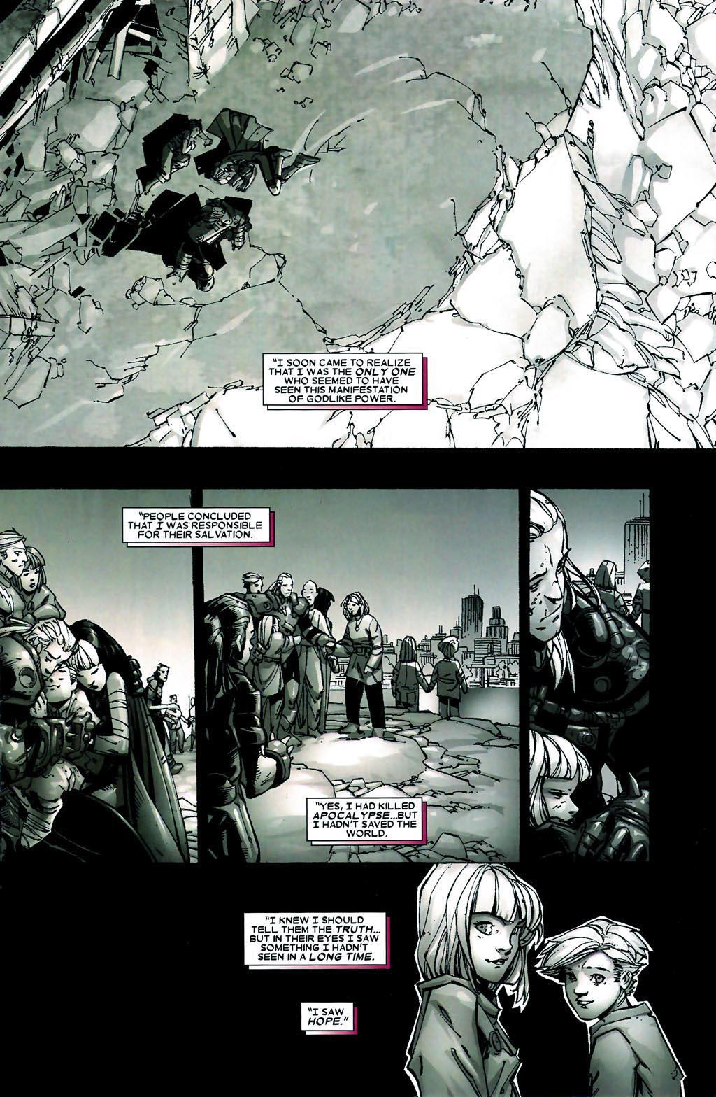 Read online Age of Apocalypse (2005) comic -  Issue #5 - 8