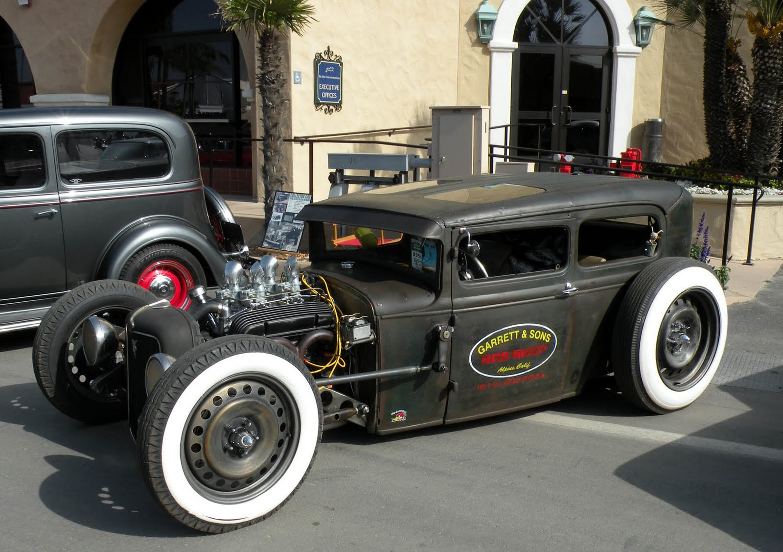 Just A Car Guy Ricky Bobbys Rod Shop Rat Rod Frankenstein