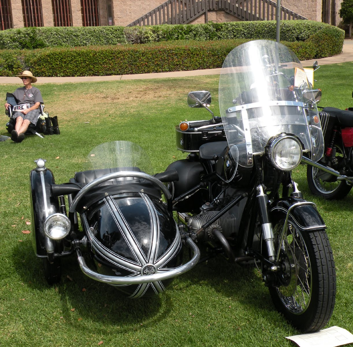 Just A Car Guy: Steib Model 501 Sidecar (about 1950) And