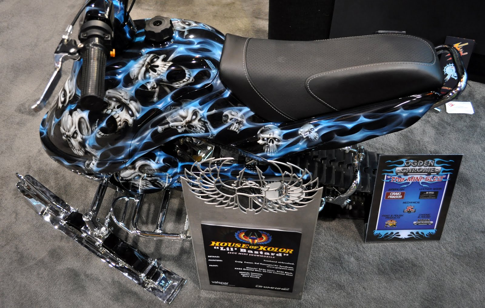 Just A Car Guy: House Of Kolor airbrushed art is something