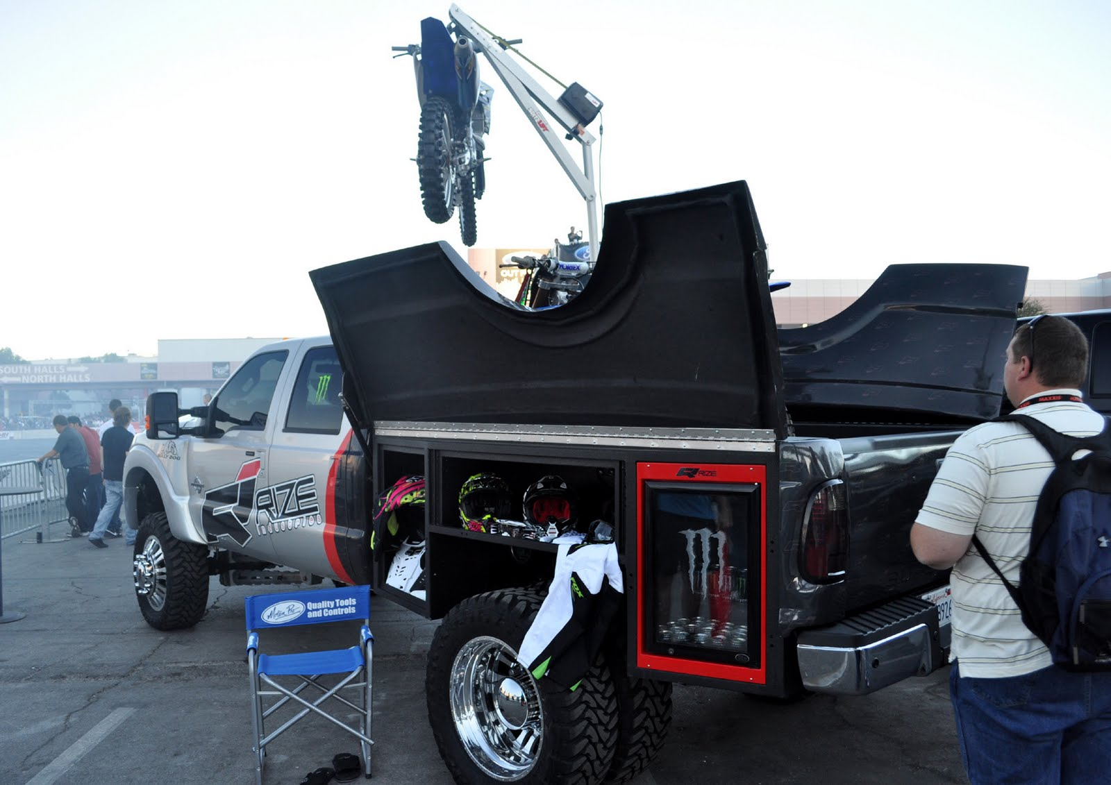 Just A Car Guy Superbly Custom Re Engineered Truck Bed
