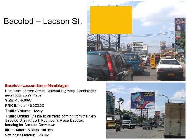 Available Billboard Site : Bacolod City