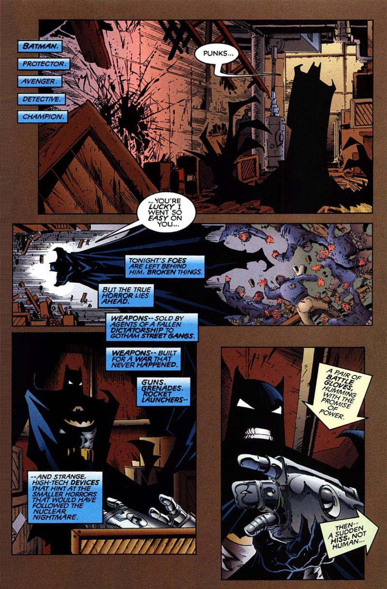 Read online Spawn-Batman comic -  Issue # Full - 5