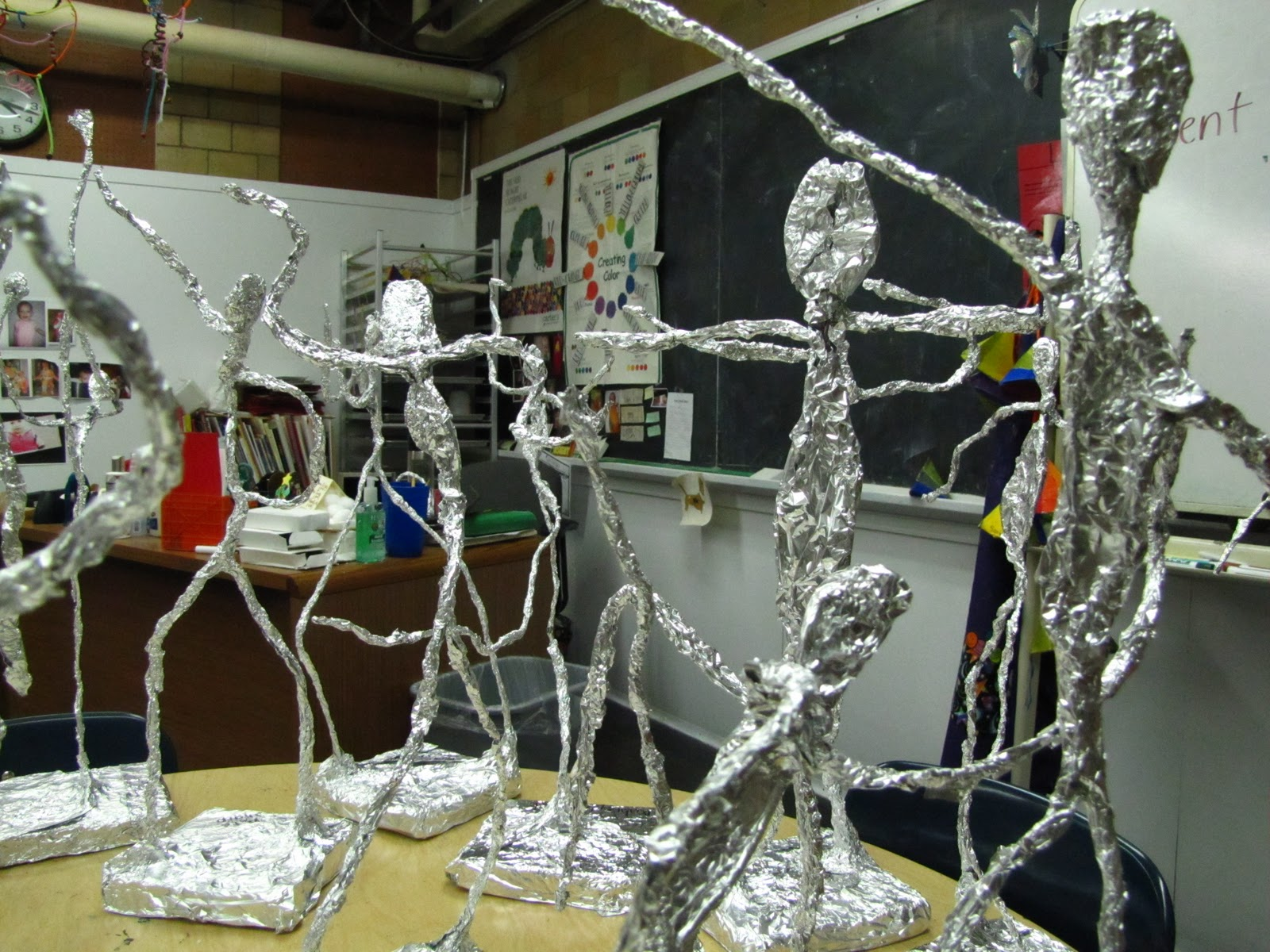Pces 4th Grade Art Enrichment Week 8 Forming Our Sculptures