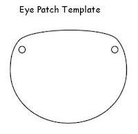 Pirate Eyepatch Template
