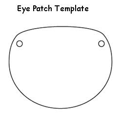 Eye Patch Coloring Pages